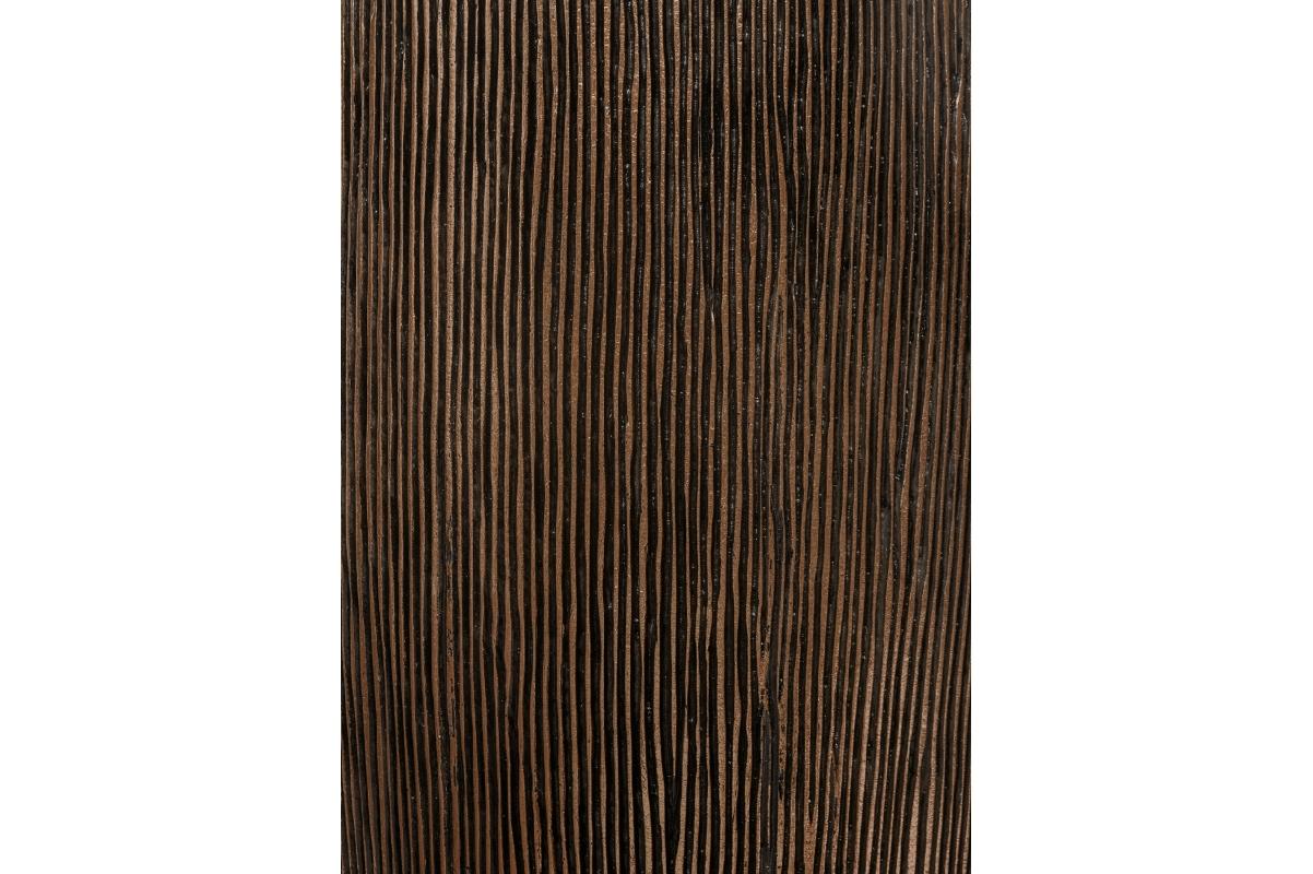 Кашпо Treez Effectory Wow высокий конус темное матовое золото от 75 до 117 см - Фото 3