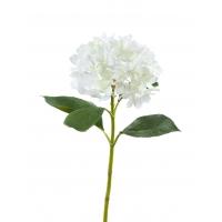 Гортензия Grande Fiore искусственная белая 70 см