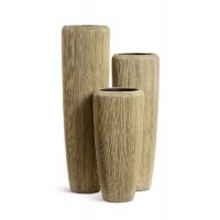 Кашпо Treez Effectory серия Wow высокий конус песчаная дюна от 75 до 117 см