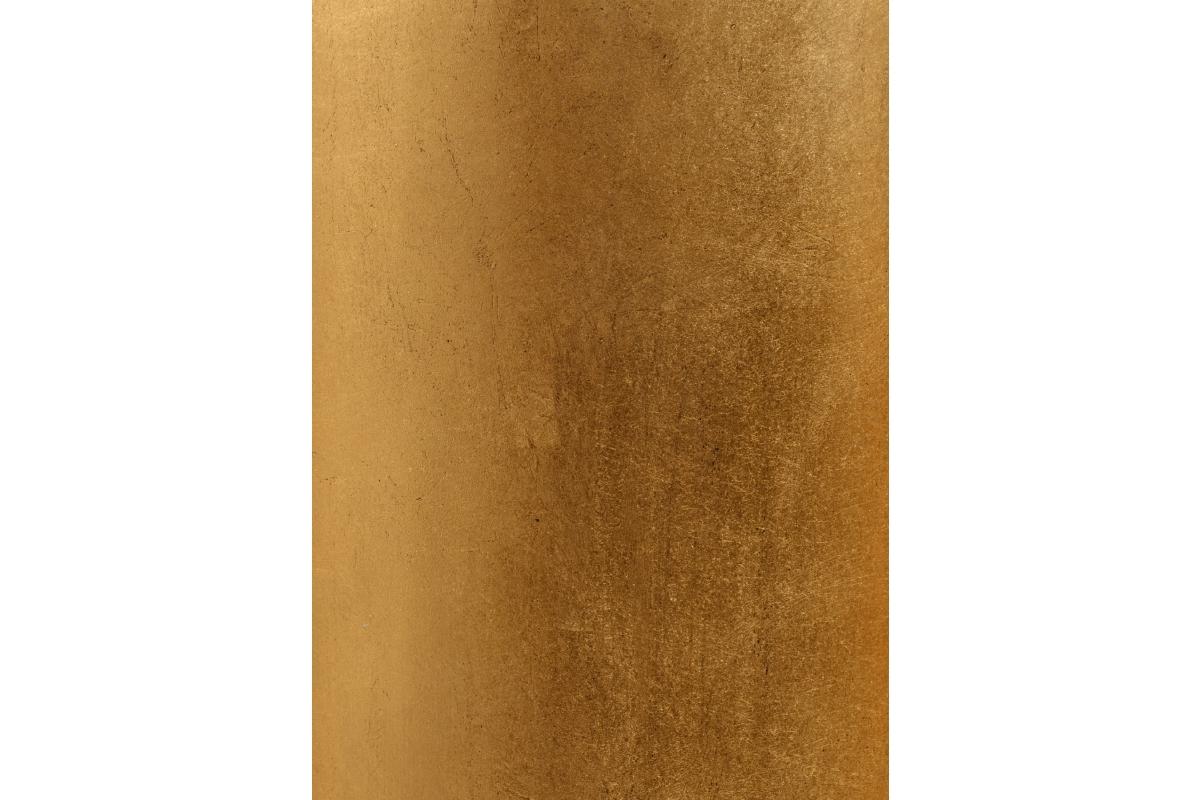 Кашпо Treez Effectory Metal высокий округлый конус сусальное золото от 72 до 95 см - Фото 3
