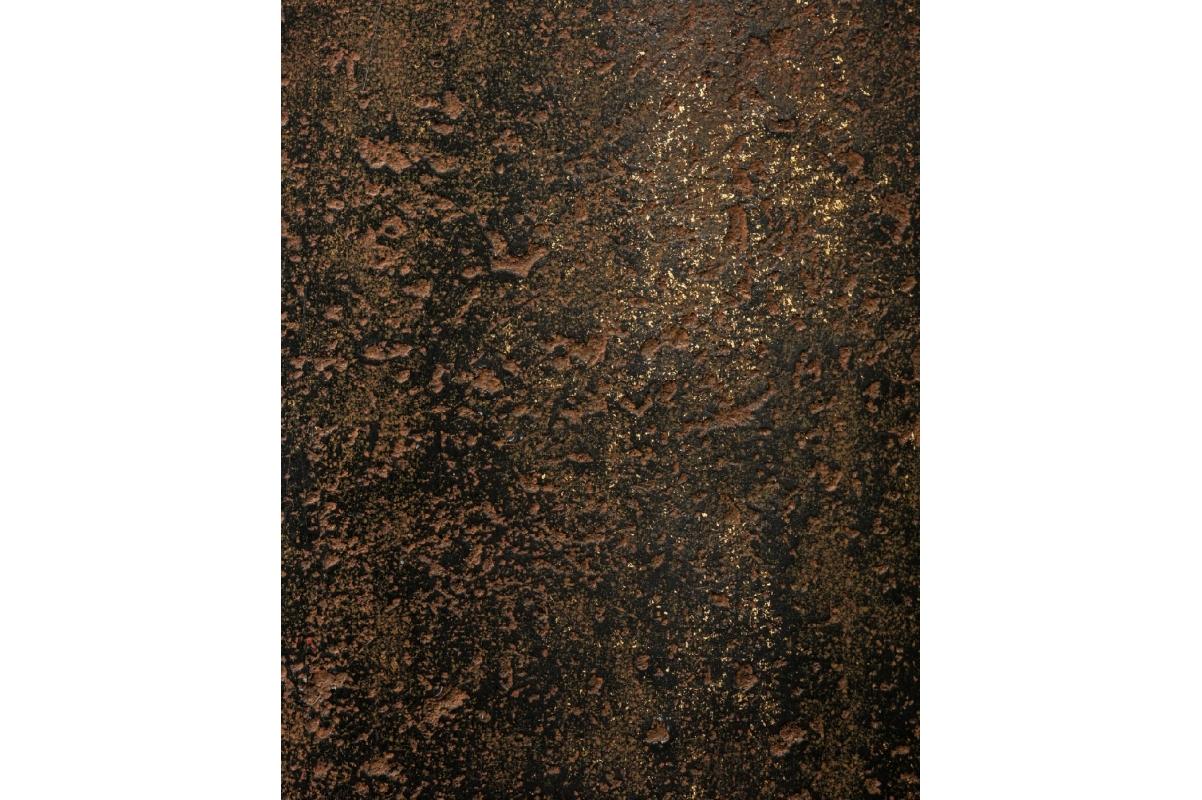 Кашпо Treez Effectory Metal высокий округлый конус Rough с золотой патиной от 72 до 95 см - Фото 4