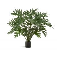 Филодендрон Селло куст искусственный зеленый 95 см