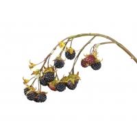 Ветвь Ежевика со спелыми плодами искусственная 38 см