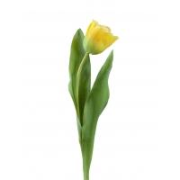 Тюльпан Даймонд искусственный золотистый 44 см