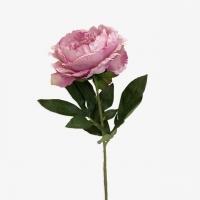 Пион Королевский искусственный светло-розовый 80 см