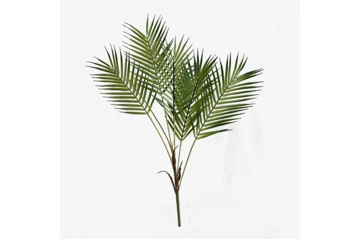 Пальма Хамедория искусственная 80 см (без кашпо)