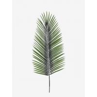 Лист пальмы Хамедореи искусственный зеленый 92 см