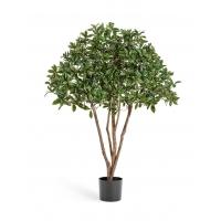 Эонимус Бересклет японский искусственный зелено-белый 120 см