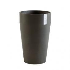 Кашпо Экопотс Sankara middle D35 H55 см высокое антрацит