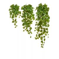 Потос Ауреум искусственный ампельный от 45 до 80 см