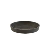 Поддон Экопотс круглый D17,5 H2,5 см антрацит