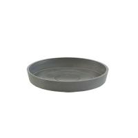 Поддон Экопотс круглый D17,5 H2,5 см серый
