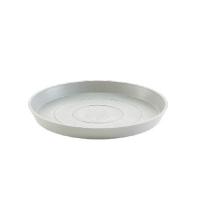 Поддон Экопотс круглый D29 H3 см светло-серый