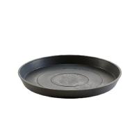 Поддон Экопотс круглый D36,5 H3,5 см антрацит