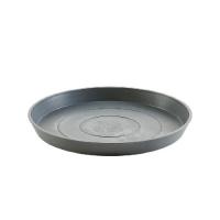 Поддон Экопотс круглый D36,5 H3,5 см серый