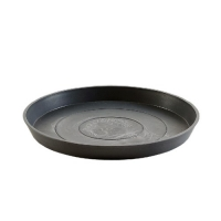 Поддон Экопотс круглый D44,5 H3,5 см антрацит