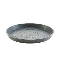 Поддон Экопотс круглый D44,5 H3,5 см см серый