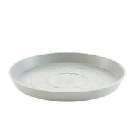 Поддон Экопотс круглый D50,5 H3,5 см светло-серый
