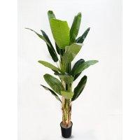 Пальма Банановая 3-х ствольная искусственная 180 см
