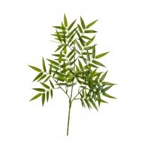 Бамбук Ориенталь искусственный ветвь зеленый 55 см