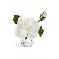Композиция Цветок Шиповника искусственный мини 13 см
