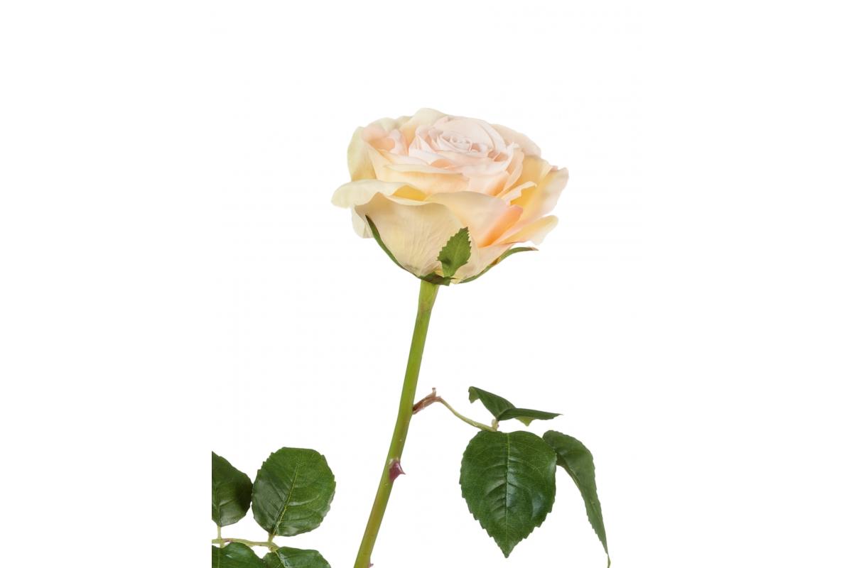 Роза Варди искусственная нежно-розовая 58 см