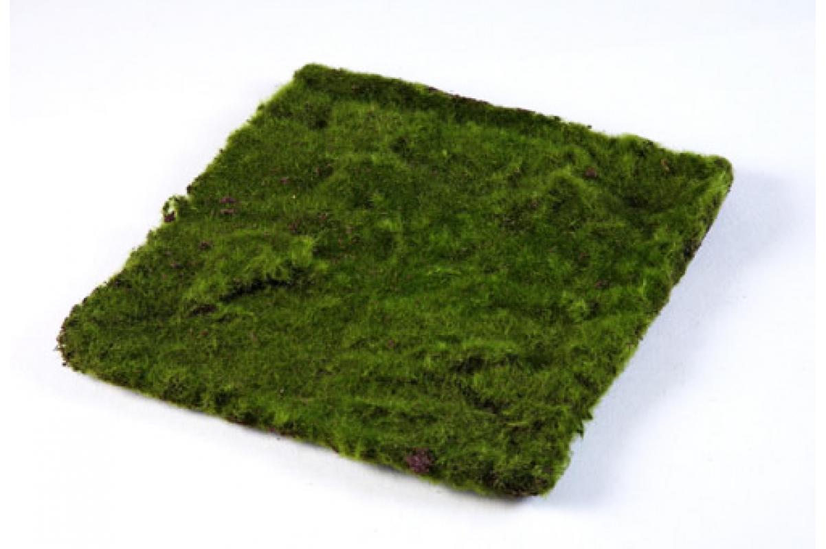 Мох искусственный квадратный 30х30 см MDP
