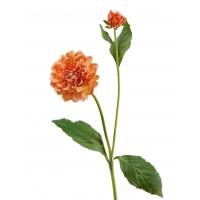 Георгин искусственный персиковый 48 см
