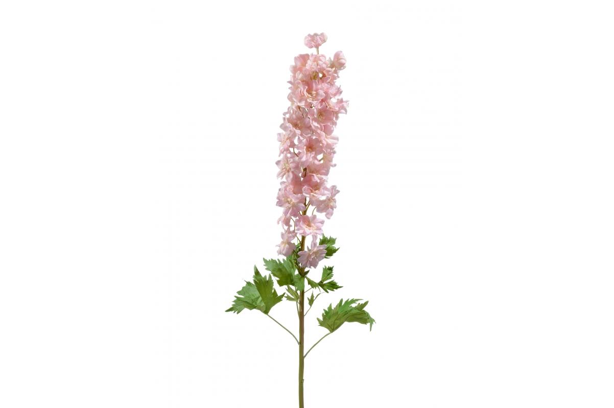 Дельфиниум большой искусственный розовый 107 см