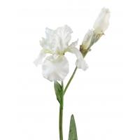 Ирис искусственный белый 110 см