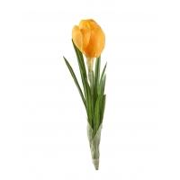 Крокус искусственный желтый 20 см