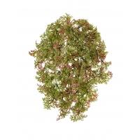 Рясковый мох Ватер-Грасс искусственный куст зелено-бордовый 20 см