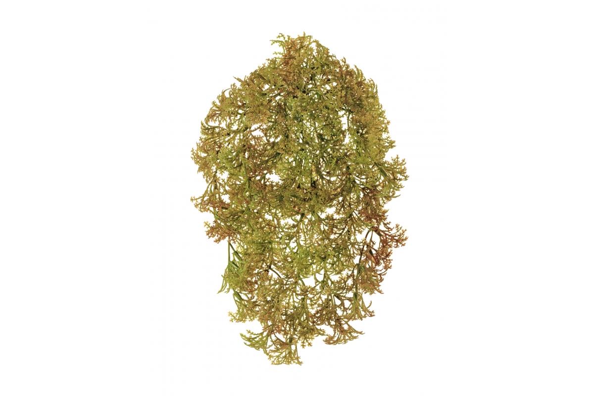 Рясковый мох Ватер-Грасс искусственный куст коричнево-зеленый 20 см