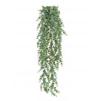 Эвкалипт куст искусственный ампельный серо-зеленый припыленный 65 см