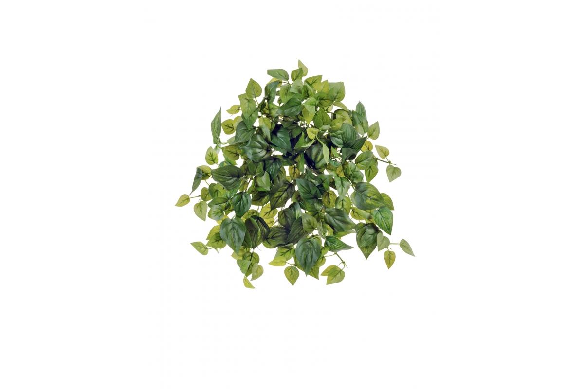 Филодендрон Денс искусственный ампельный куст зеленый 26 см