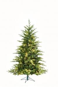 Ель WOODBURY зеленая искусственная с LED лампочками от 180 до 213 см