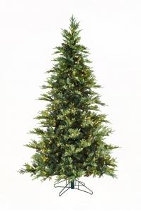 Ель WHISTLER LED зеленая искусственная с LED лампочками от 180 до 275 см