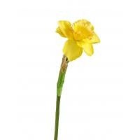 Нарцисс искусственный желтый 48 см