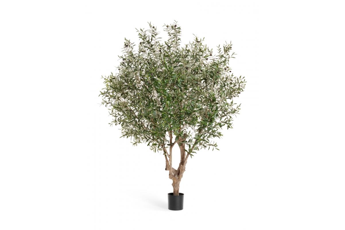Олива Джи-Форест искусственная с плодами 210 см (сборная)