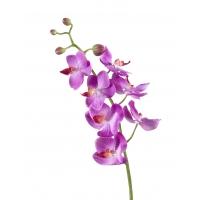 Орхидея Фаленопсис Элегант искусственная светло-фиолетовая 70 см (Real Touch)
