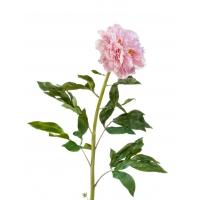 Пион искусственный большой нежно-розовый 100 см