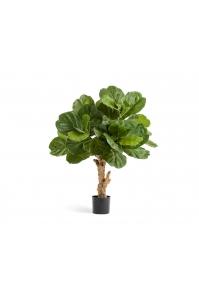 Фикус Лирата Форест искусственный зеленый 115 см