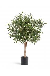 Олива Джи Шар с плодами искусственная зеленая 75 см
