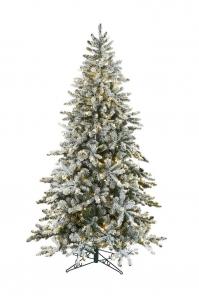Ель BIG WHITE искусственная заснеженная с LED подсветкой от 180 до 245 см