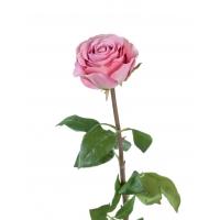 Роза Соло Нью большая искусственная розовая 72 см