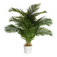 Пальма Кустовая искусственная в кашпо 150 см (Real Touch)