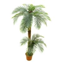 Пальма Арека двухствольная искусственная 170 см (Real Touch)