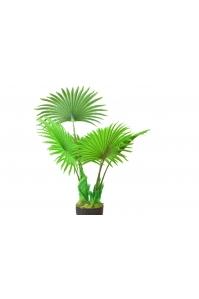 Пальма Вашингтония искусственная веерная в кашпо 110 см