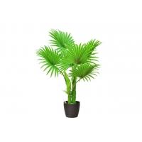 Пальма Вашингтония искусственная веерная в кашпо 120 см
