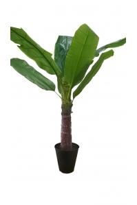 Пальма Банановая искусственная в кашпо 150 см